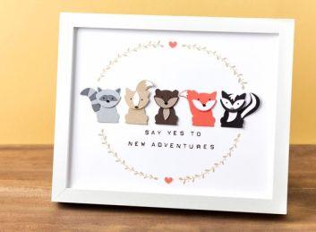 foxy friends card 1