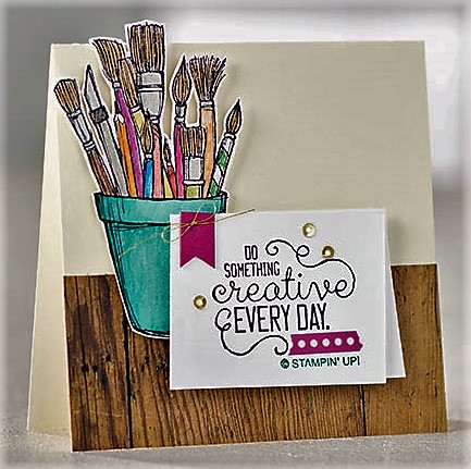 crafting forever stamp set idea