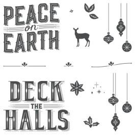 Carols of Christmas stamp set - july promotion