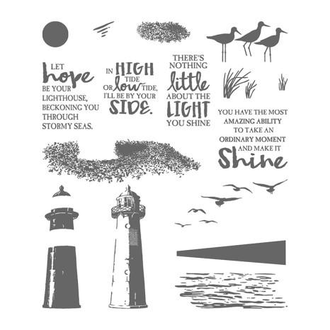 high tide stamp image