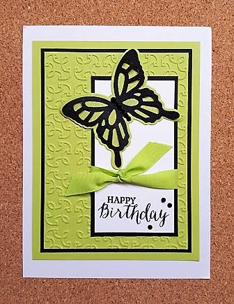 garden trellis card