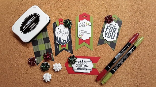 Merry Little Christmas tag examples