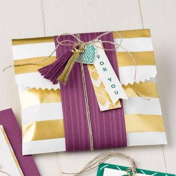 xx striped treat bag sample idea