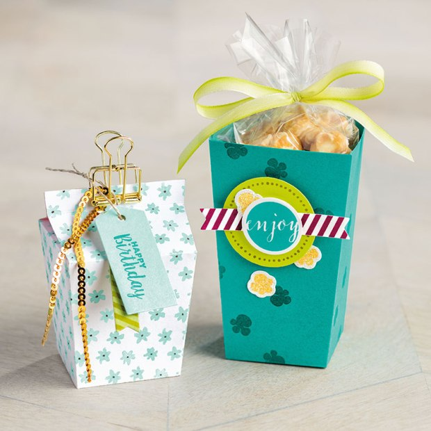 packaging - popcorn box thinlit gifts