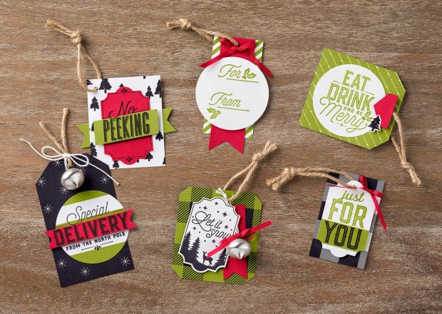 Merry Little Christmas tag examples 1