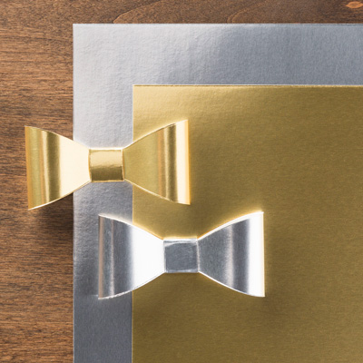 foil sheets gold and silver