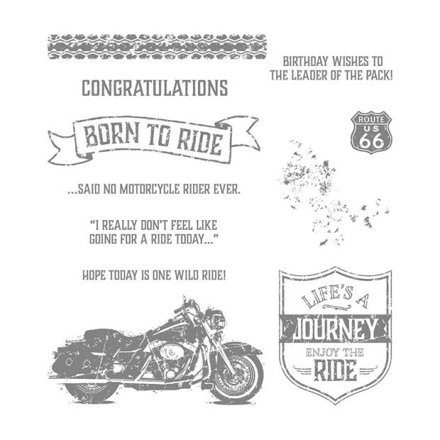 one wild ride stamp set