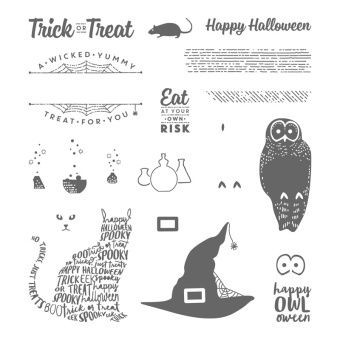 spooky cat stamp images