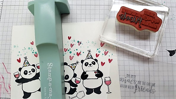 Party panda adding sentiment