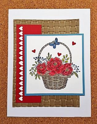 blooming basket 4p