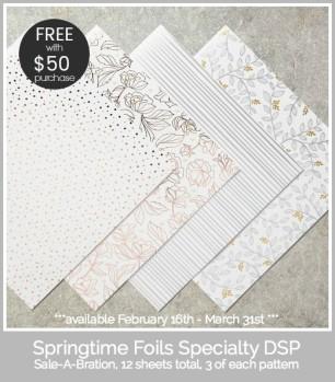 SAB foil paper