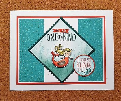 magical day bermuda bay card remake from Melissa Ellis