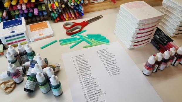 ink pad organization 1
