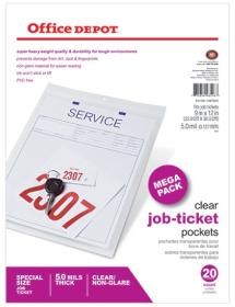 Office Depot Job Ticket Holder