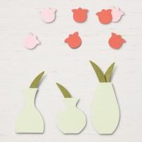 varied vases punch