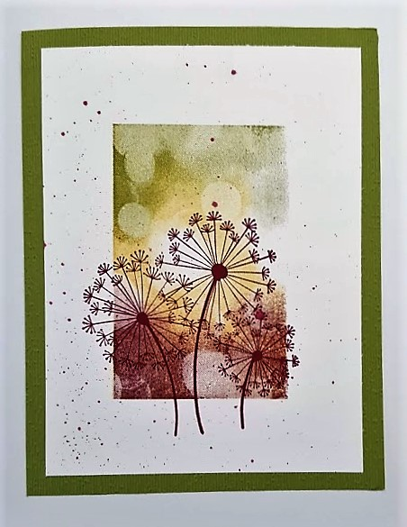 dandelion inky sample
