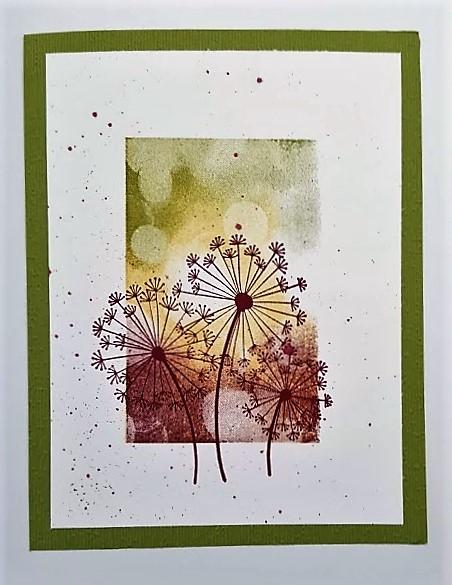 dandelion inky sample