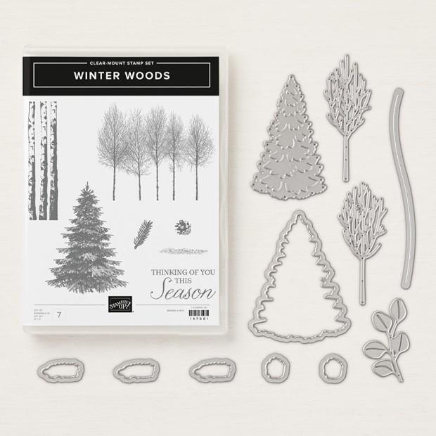winter woods - bundle image