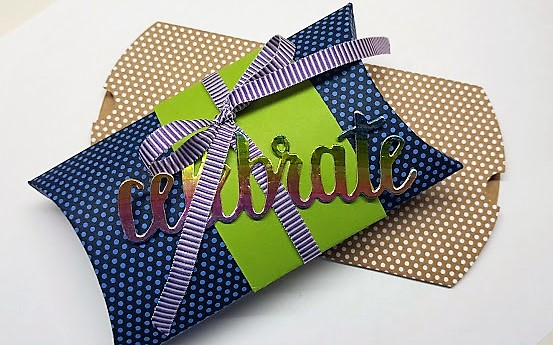 kraft pillow box - make it 5