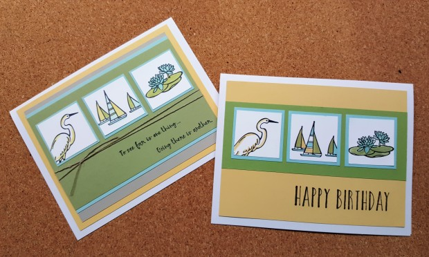 lilypad lake by sandy alexander step up cards