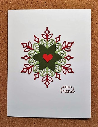 snowfall thinlits - card 1