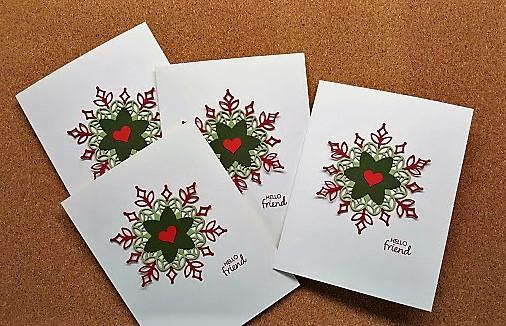 snowfall thinlits - card 2
