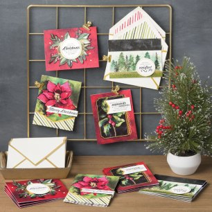 timeless tidings kit finished cards