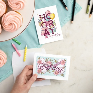 birthday staatements cards - you can make it samples