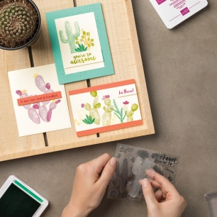 flowering desert cards you can make it samples