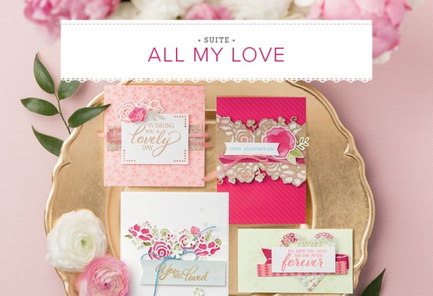 all my love product suite banner