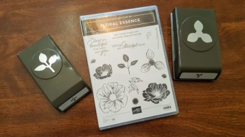floral essence stamp and punches