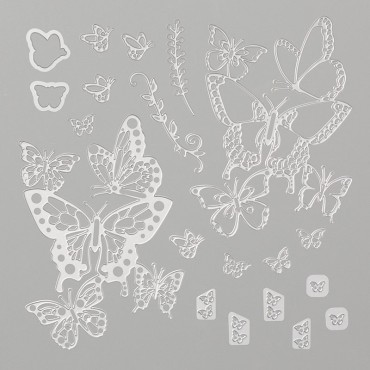 Butterfly Beauty thinlits catalog