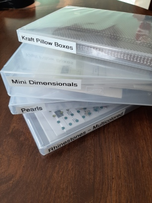 clear and full stamp cases for storage