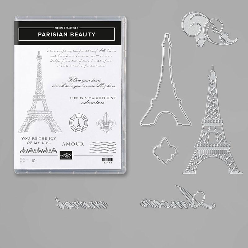 Parisian Beauty stamp catalog image