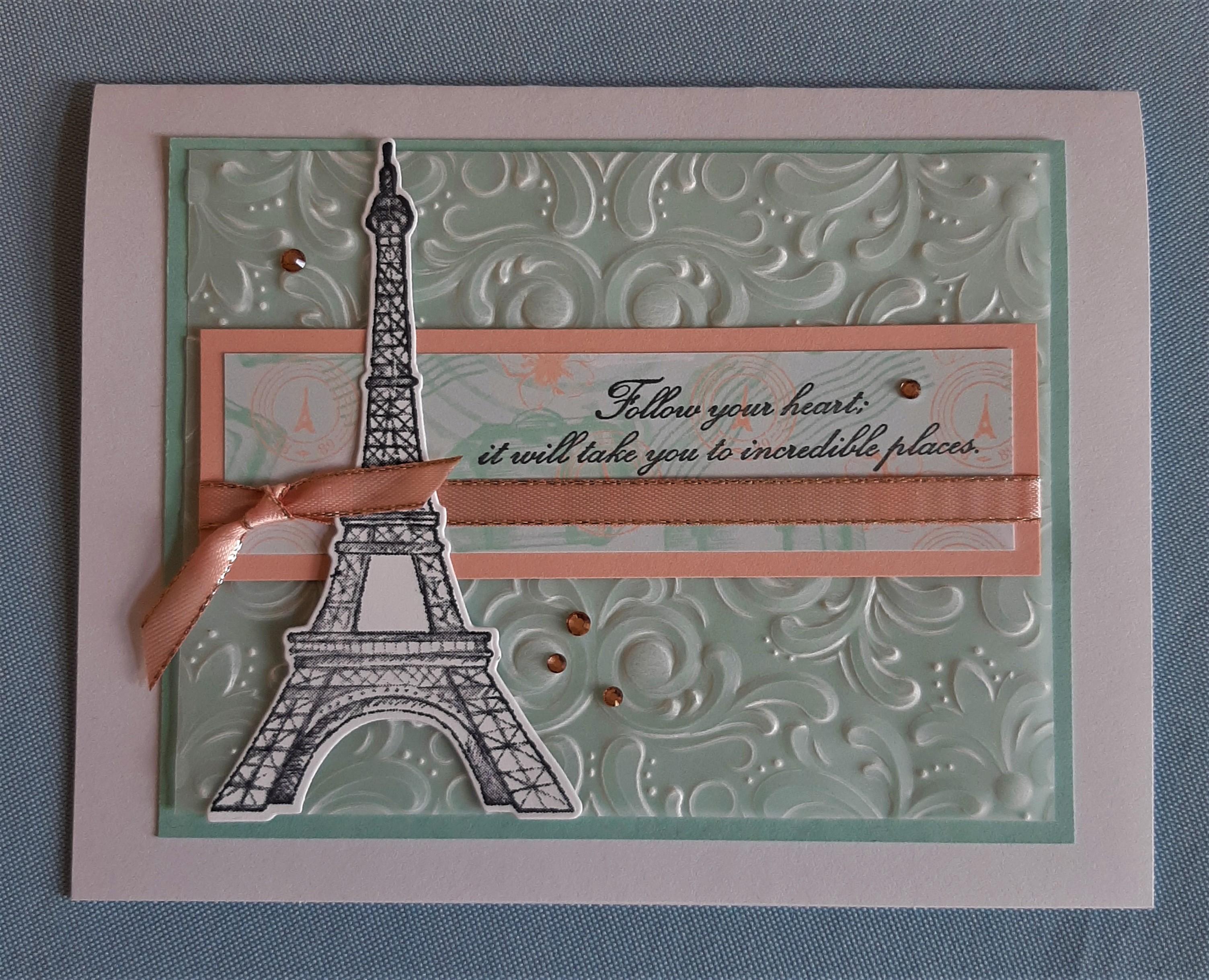 parisian beauty vellum card