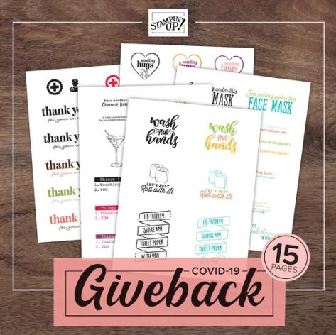 covid 19 giveback catalog