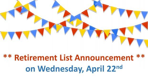 retirement list blog image