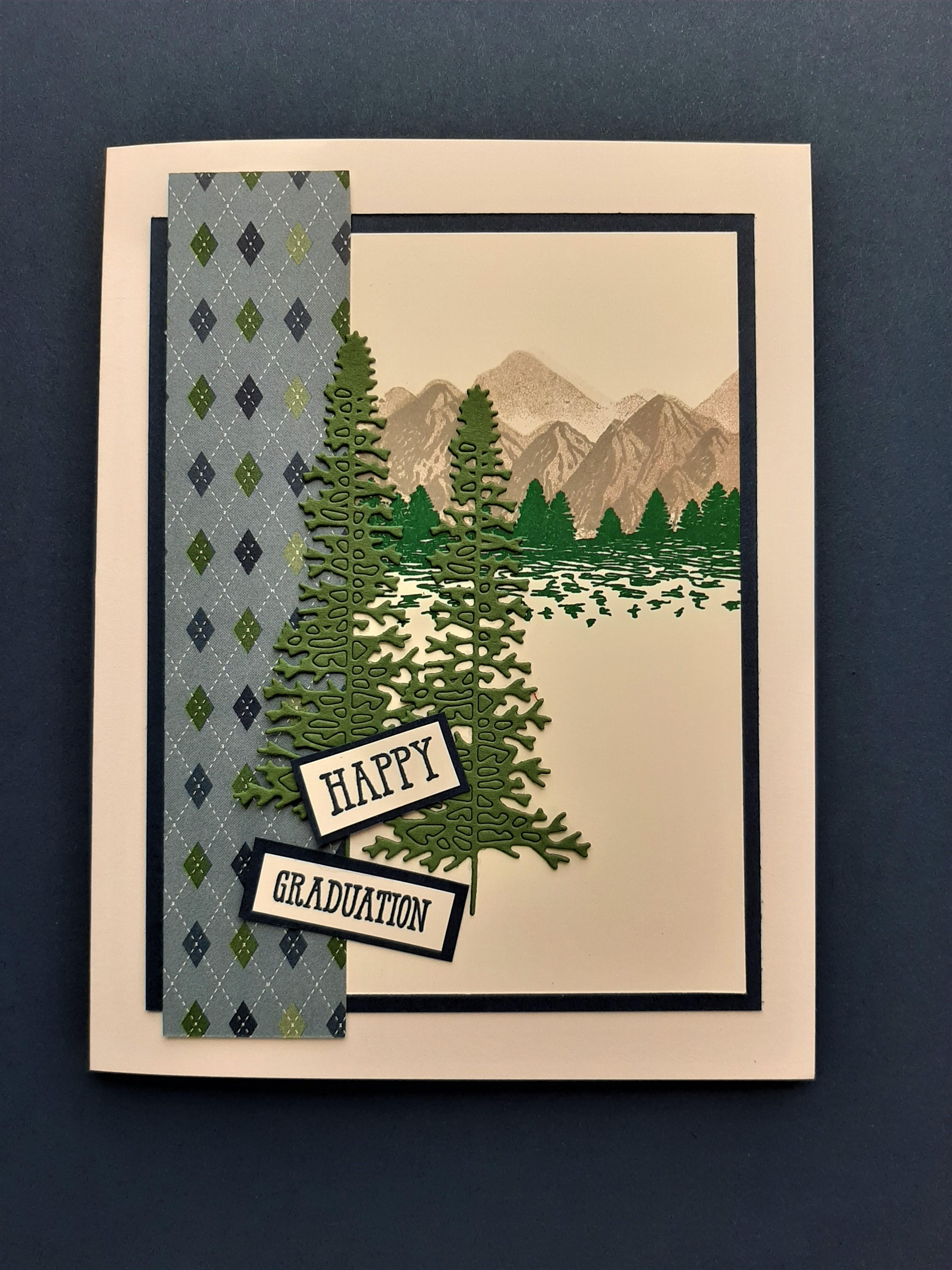 mountain air - andrew grad card