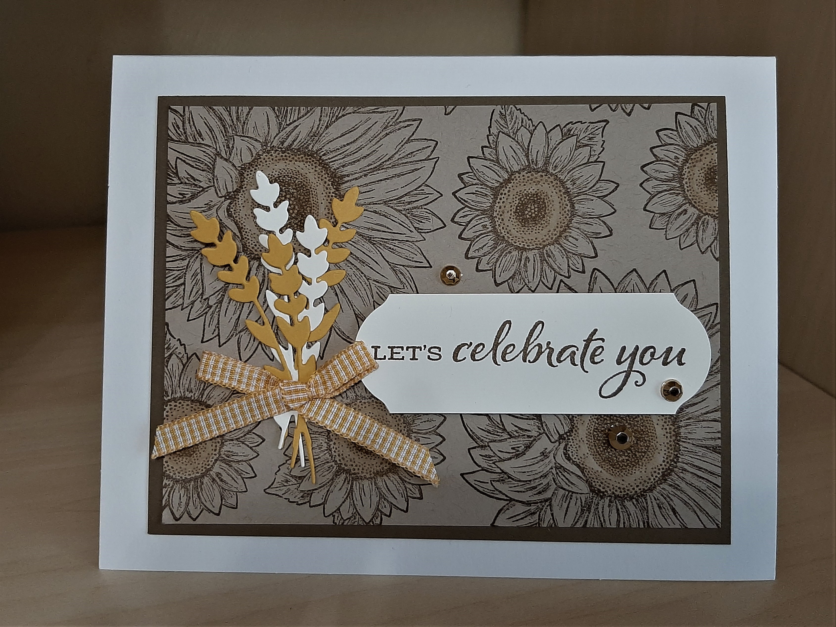 celebrating sunflowers - browns and golds