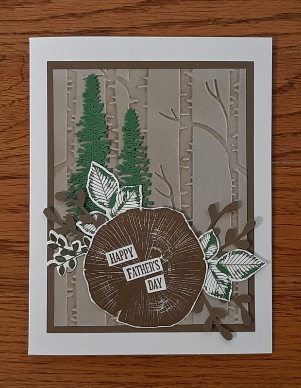 rooted in nature fathers day card
