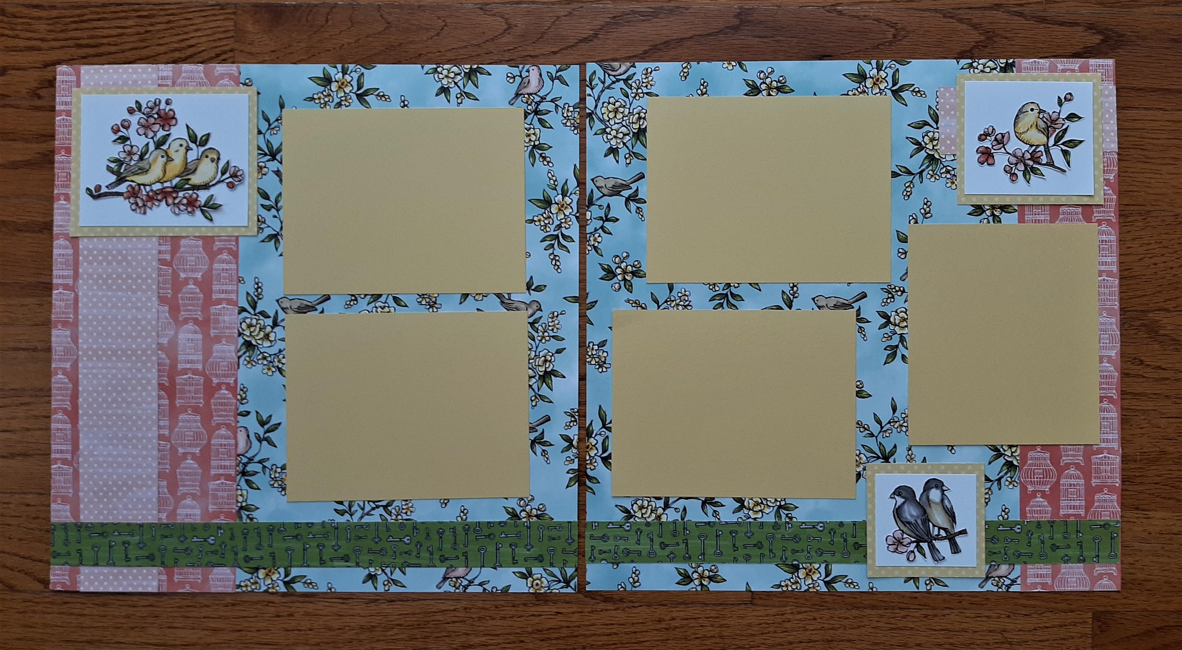 scrapbook Blog Hop 2020-06 bird ballad