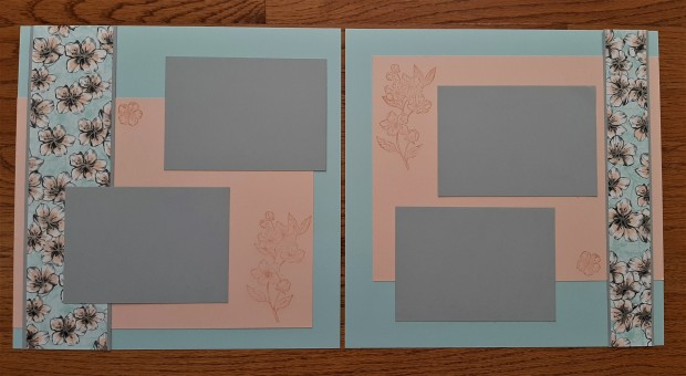 scrapbook Blog Hop 2020-06 Parisian Blossoms